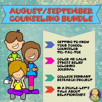 August/September Counseling Bundle