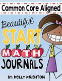 September Math Journal First Grade