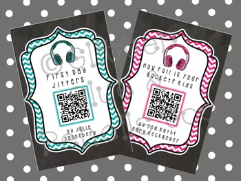 August/September Listening Center QR Codes