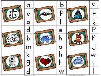 August/September Literacy and Grammar Clipping Cards ESL 1st/2nd Grade