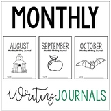 August, September, and October Writing Journals