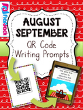 August September QR Code Writing Prompts