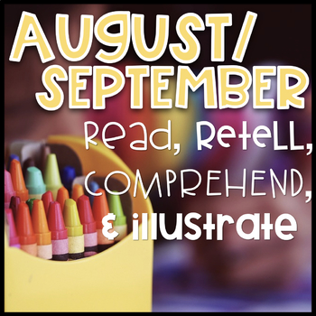 August & September Reading Passages and Comprehension Questions