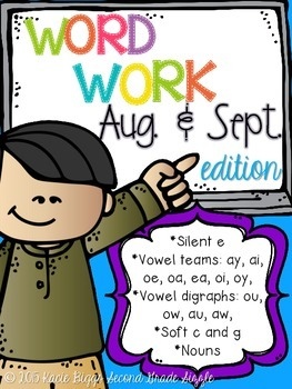 August/September Word Work