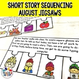 Sequencing Stories with Pictures for August