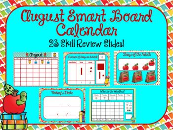 August Smart Board Calendar