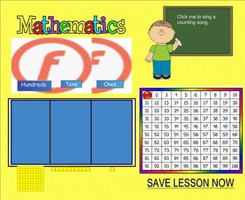 Smartboard Calendar August