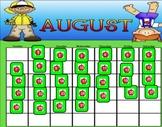 August  Smartboard Calendar