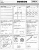 August Special Education Homework FREE sample set