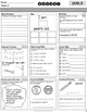 August Special Education Homework FREE sample set