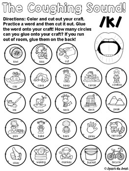 August: Speech Therapy Crafts