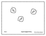 August Squiggle Writing Week 1