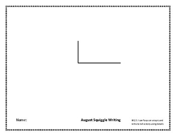 August Squiggle Writing Week 3