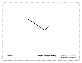 August Squiggle Writing Week 4