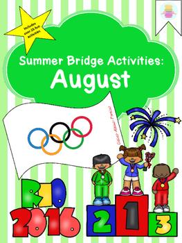 Summer Activity Bridge Packet: August