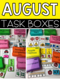 August Task Boxes (back to school)