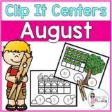August Tens Frame Clip It Centers