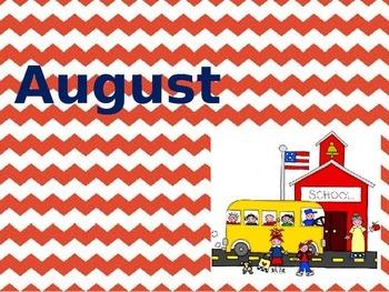 August Thru November Writing Prompts