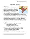 August Today In History