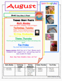 August Toddler Time Activities- Free!