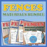 August Wilson's Fences - Question & Answer, Activity, and Assessment Bundle