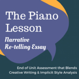 August Wilson's The Piano Lesson - Narrative Re-telling Essay