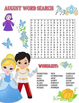 Word Search (August)