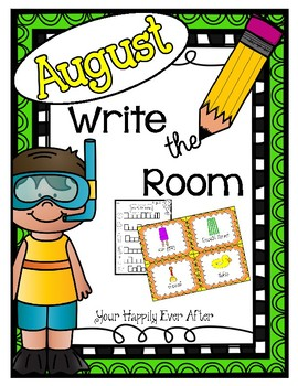 August Write the Room