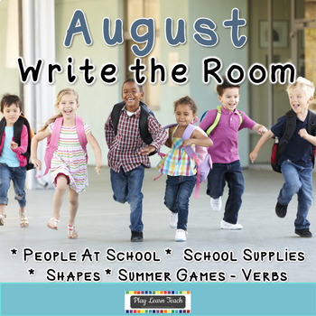 August Write the Room Bundle