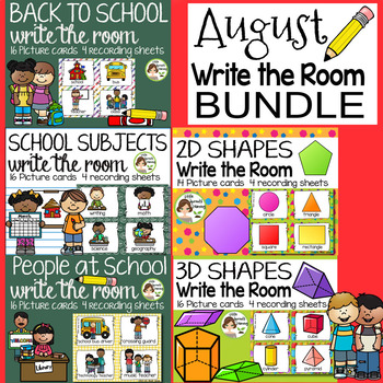 August Write the Room Bundle