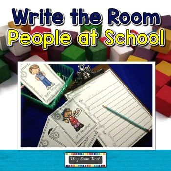 August Write the Room People at School