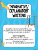 August/Back to School Writing Activities Aligned to Common Core Standards