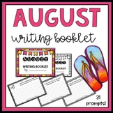 August Writing Booklet