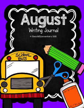 August Writing Journal {NO PREP}