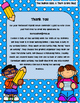August Writing Menu with Graphic Organizers & Publishing P