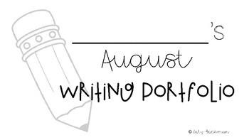 August Writing Portfolio