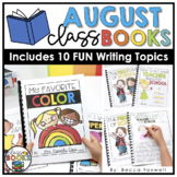 August Writing Prompts & Class Book Covers
