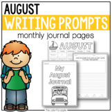 August Writing Prompts | Distance Learning