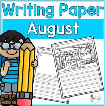 August Writing Prompts & Paper