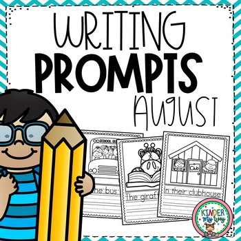 August Writing Prompts Preschool