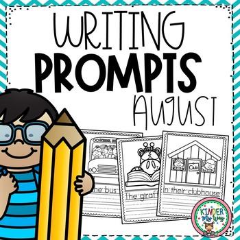 August Writing Prompts Preschool
