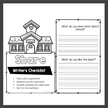 August Writing Prompts Back To School