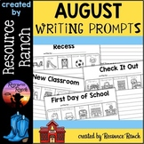 August Writing Prompts: FREE Back to School