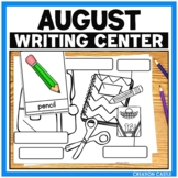 August Writing Station