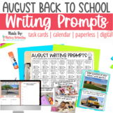 August Photo Writing Prompts