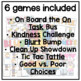 August and September Back to School Classroom Management Games