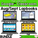 August and September Digital Interactive Notebook BUNDLE G