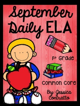 September Daily ELA