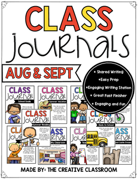 August and September Journals