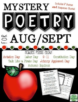 August and September Mystery Poetry Set